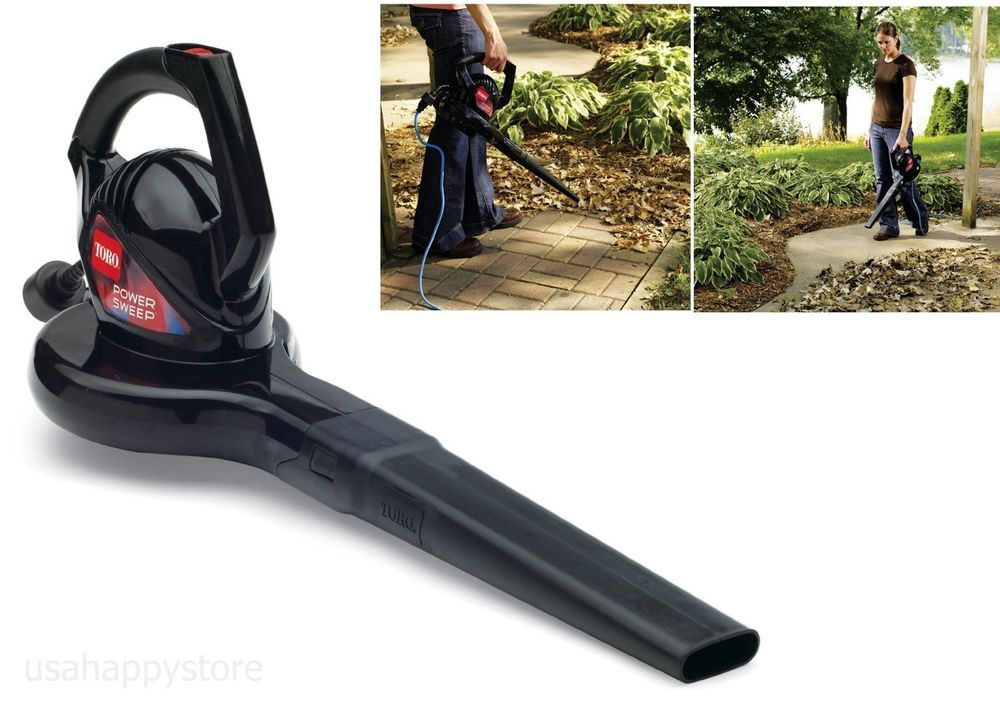 Electric Blower Power Speed Leaf Lawn Sweeper Yard Grass Dust Garden Cleaner New Toro Lawn Sweepers Leaf Blowers Blowers