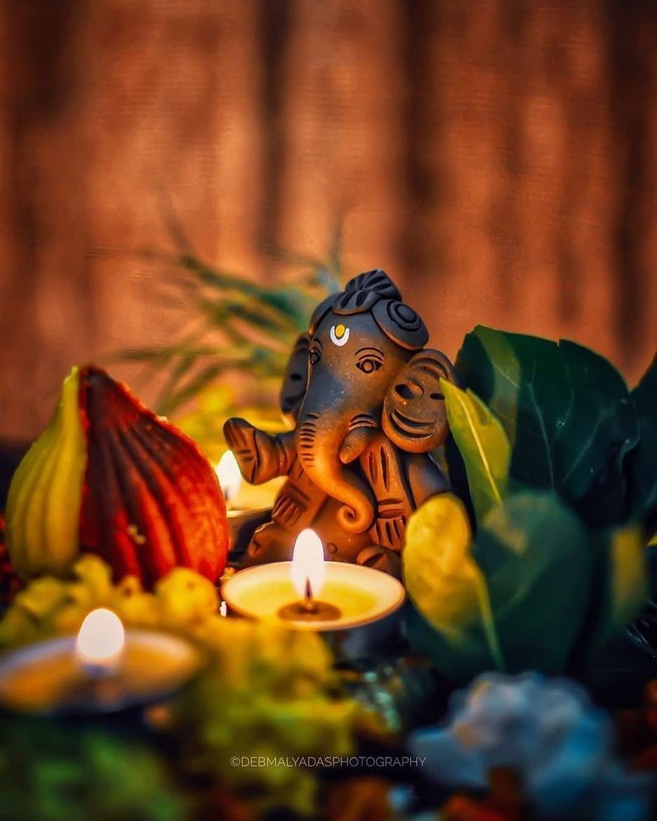 Ganesha is the son of Shiva and Parvati. He is the Lord of