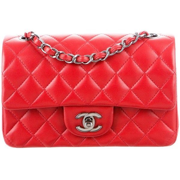 Preowned Chanel Classic Mini Rectangular Flap Bag (286435