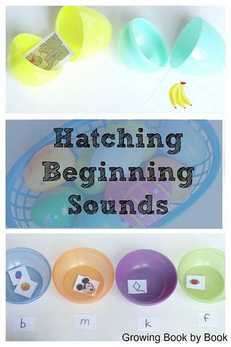 Easter Egg Phonics Activities