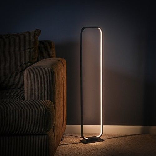 Modern Decorative Floor Lamp Futuristic Architectural Glowing Led