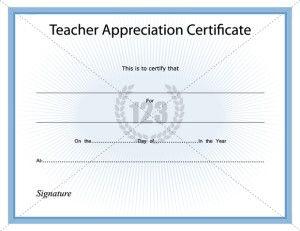Appreciation Certificate Archives - 123 Certificate ...
