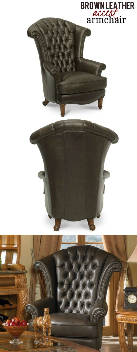 This Stunning Wing Chair Exudes An Exquisite Appeal With