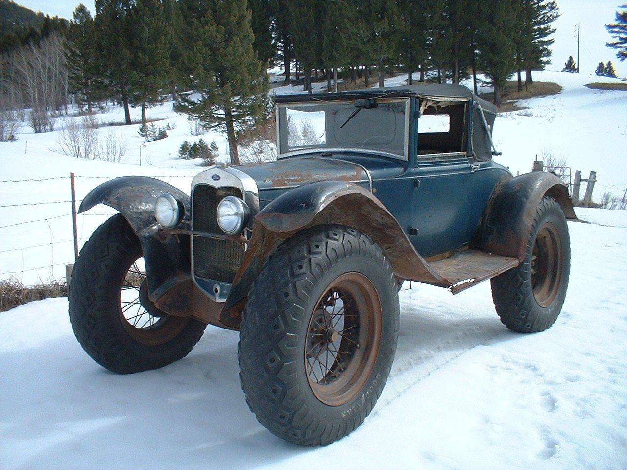 The Oral History Of An Amazing 1930 Ford Model A Off-Road Mail ...