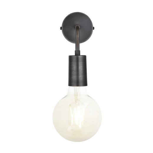 Sleek Edison Wall Light Pewter Industville Co Uk 29 And Then Buy Funky Squirrel Cage Bulbs To Fix I Wall Lights Retro Lighting Wall Lights Retro