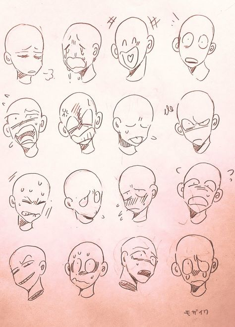 30 Trendy Drawing Anime Characters Facial Expressions Facial Expressions Drawing Cartoon Drawings Animation Art Character Design