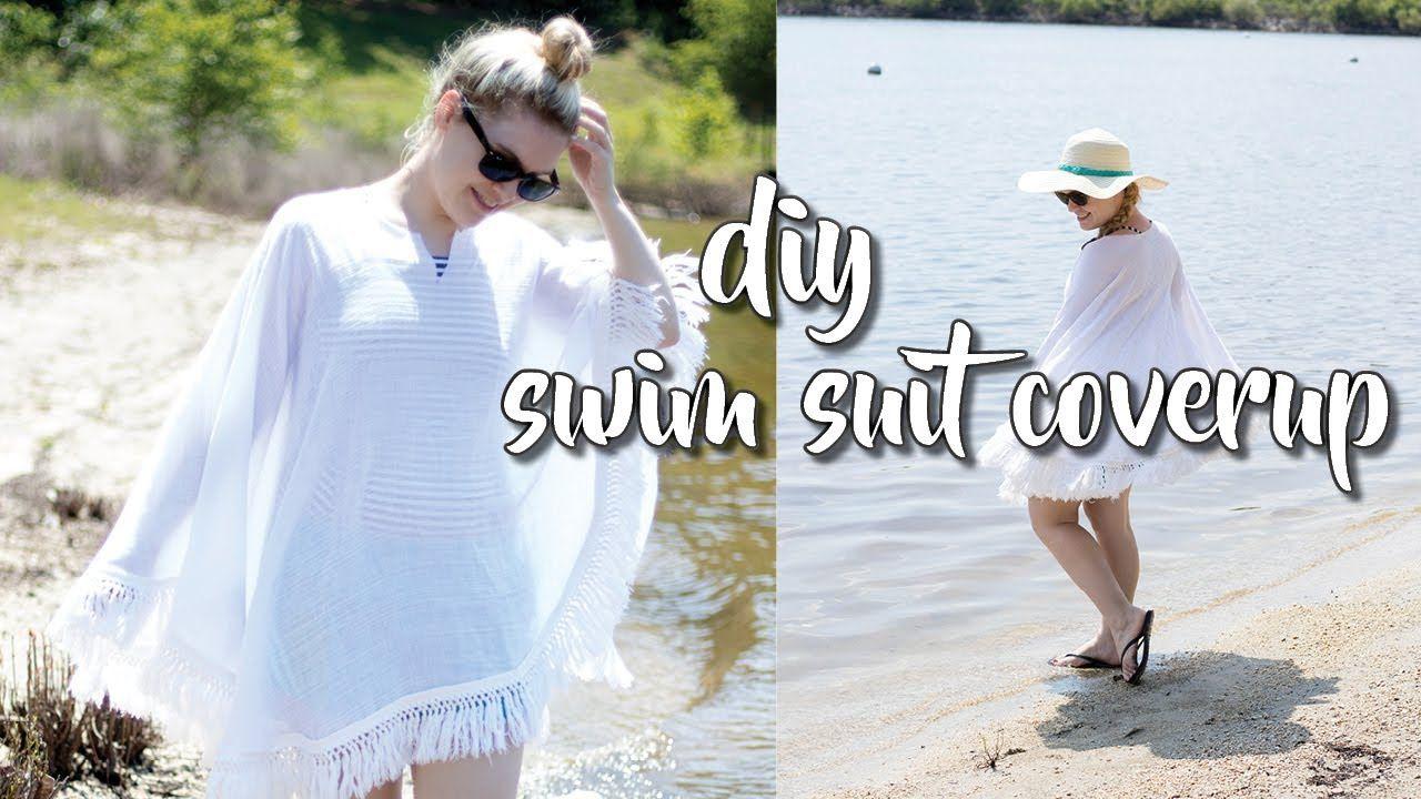Diy swim suit cover up ii very easy beginner sewing