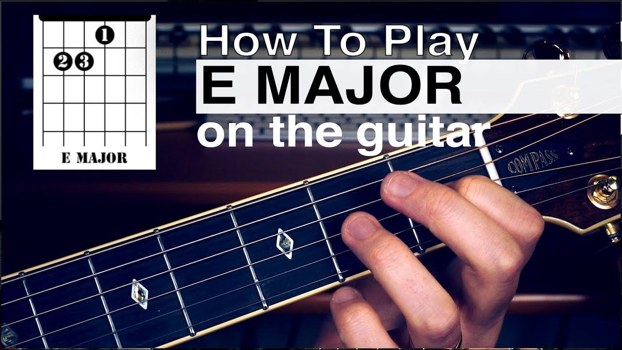 Basic Beginner Guitar Chords Guitar Tutorials How To Play