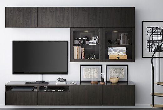 De IKEA BESTÅ is een veelzijdig opbergsysteem voor de woonkamer dat ...