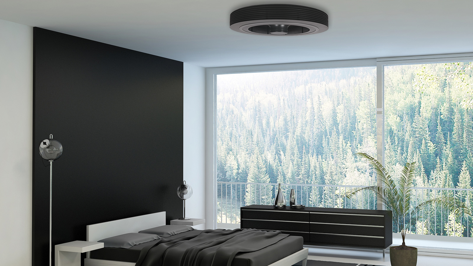 Exhale Fans The Ceiling Fan Reinvented Bedroom Wall Colors