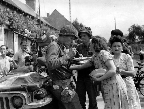 Les Normands et leurs libérateurs Normandie1944, L'été