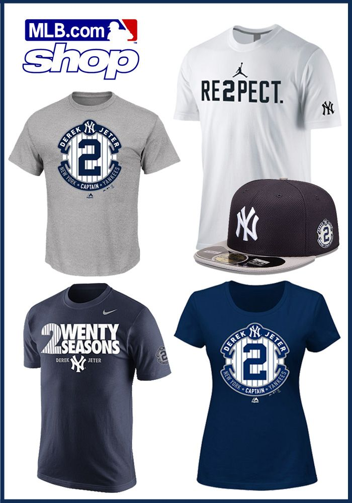 c32c53bb3 Have you seen the latest Jeter gear in the MLB Online Shop  Check it out  here!
