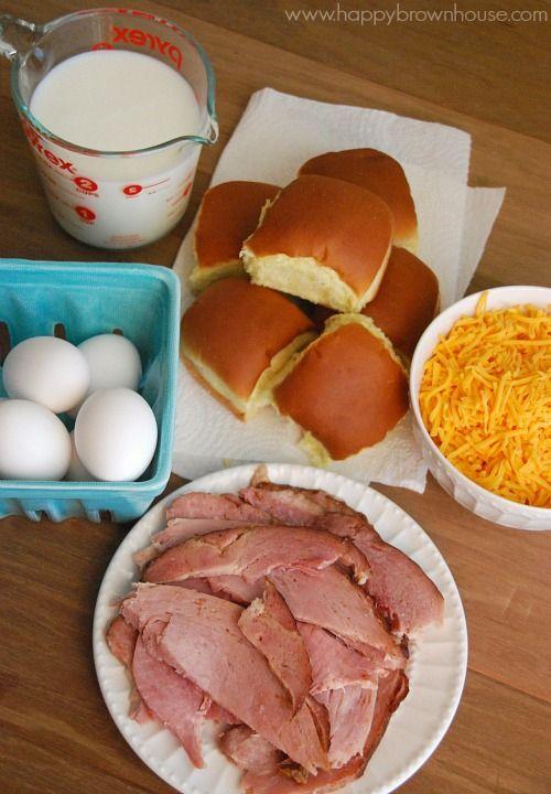 Ham, Egg, and Cheese Breakfast Casserole Recipe Breakfast