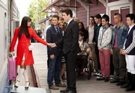 Image result for glee rachel and jesse