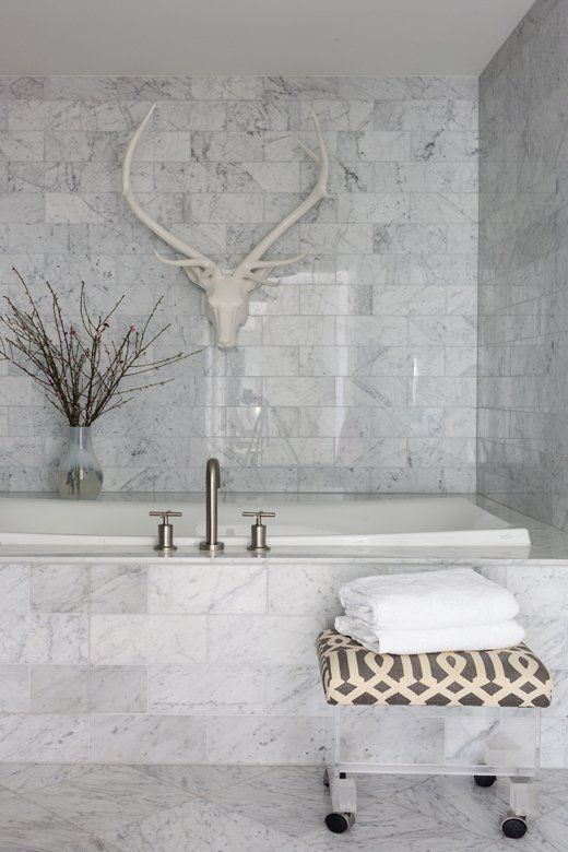At Home With Lee Kleinhelter Marble Bathroom Designs Marble Tile Bathroom Marble Bathroom