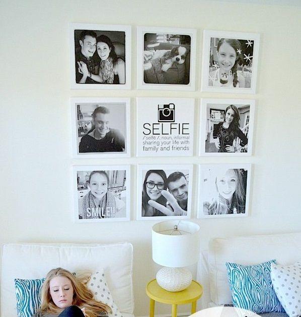 Fotos Auf Leinwand Selber Machen Fotocollage Jungen Zimmer