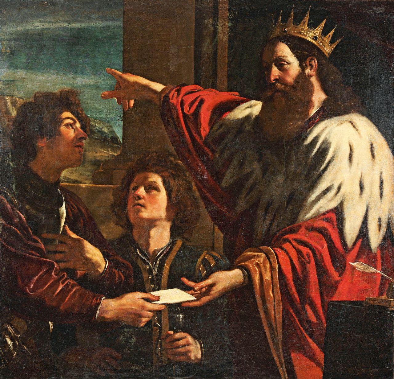 993 B.C. DAVID AND URIAH In the morning David wrote a
