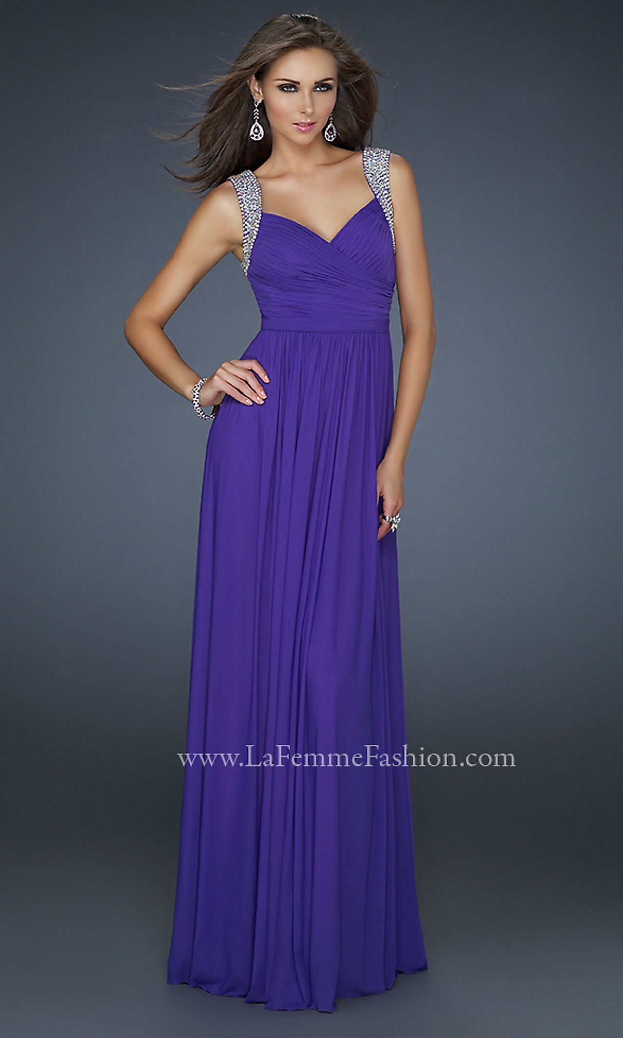 La Femme 17501 Long Prom Dress LF-17501