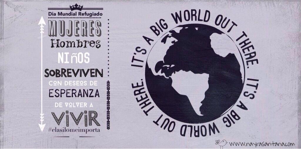 Top Día Mundial del Refugiado..ellos también se merecen VIVIR #frases  HC31