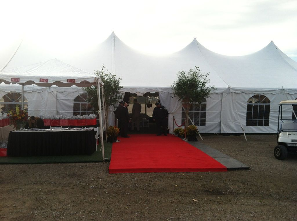 Ameristar Casino Casino Tent Setup