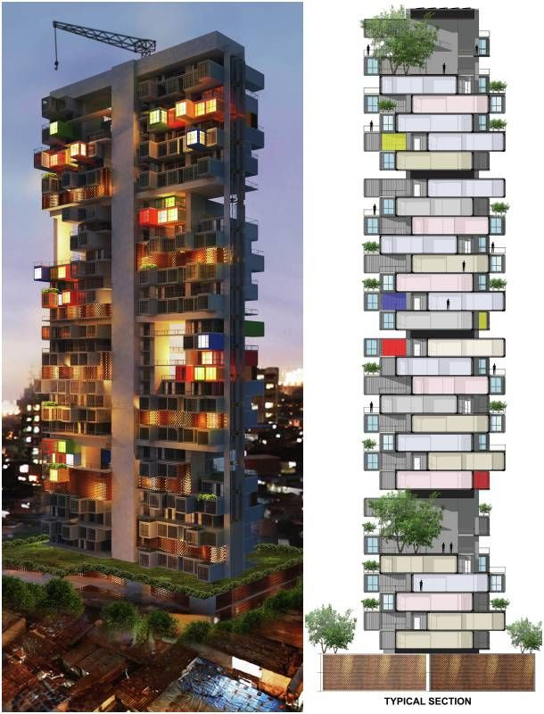 Torre-contenedores-maritimos-secion