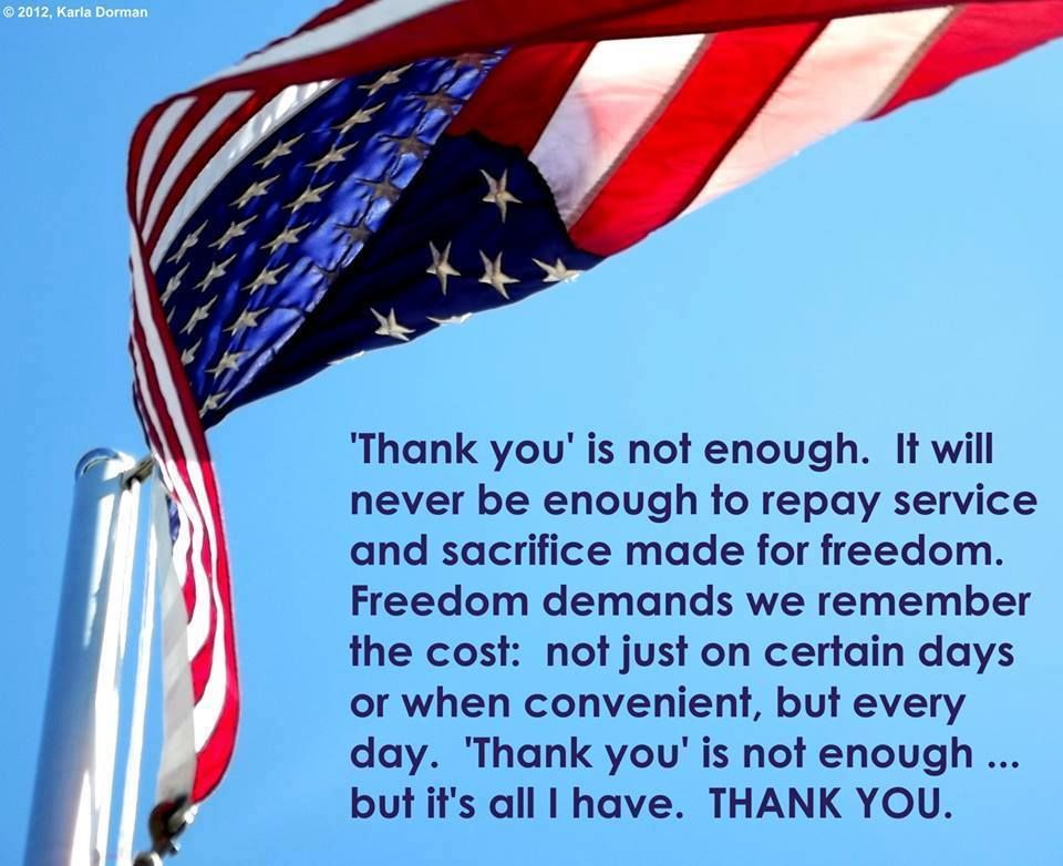 THANK YOU! TO OUR USA TROOPS... GOD BLESS YOU ALL❤️