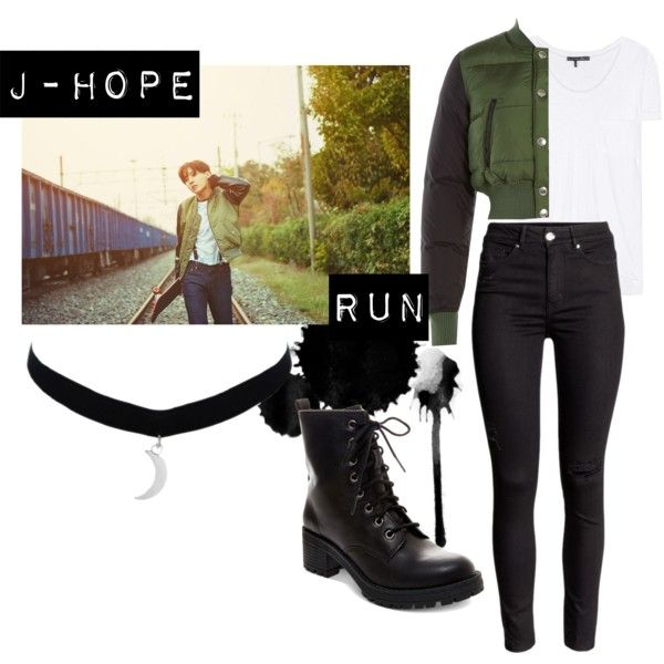 Image result for jhope run outfit
