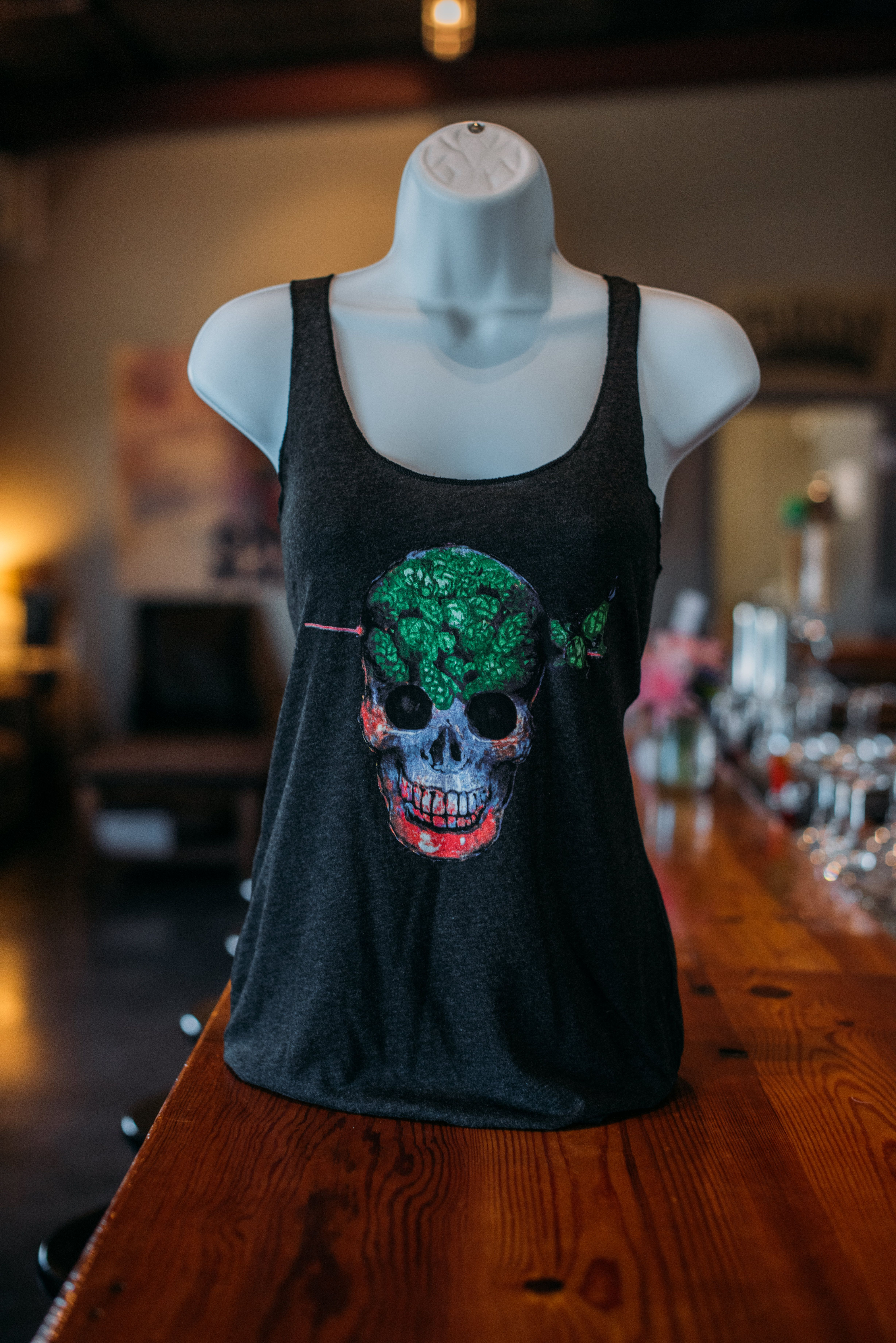 Women's Tank for Ghost in the Machine, Parish Brewing Co ...