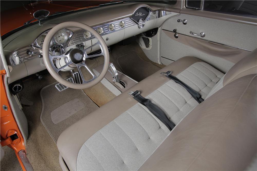 1956 Chevrolet Bel Air Custom 2 Door Sedan Interior 157605 Chevrolet Bel Air Bel Air Sedan