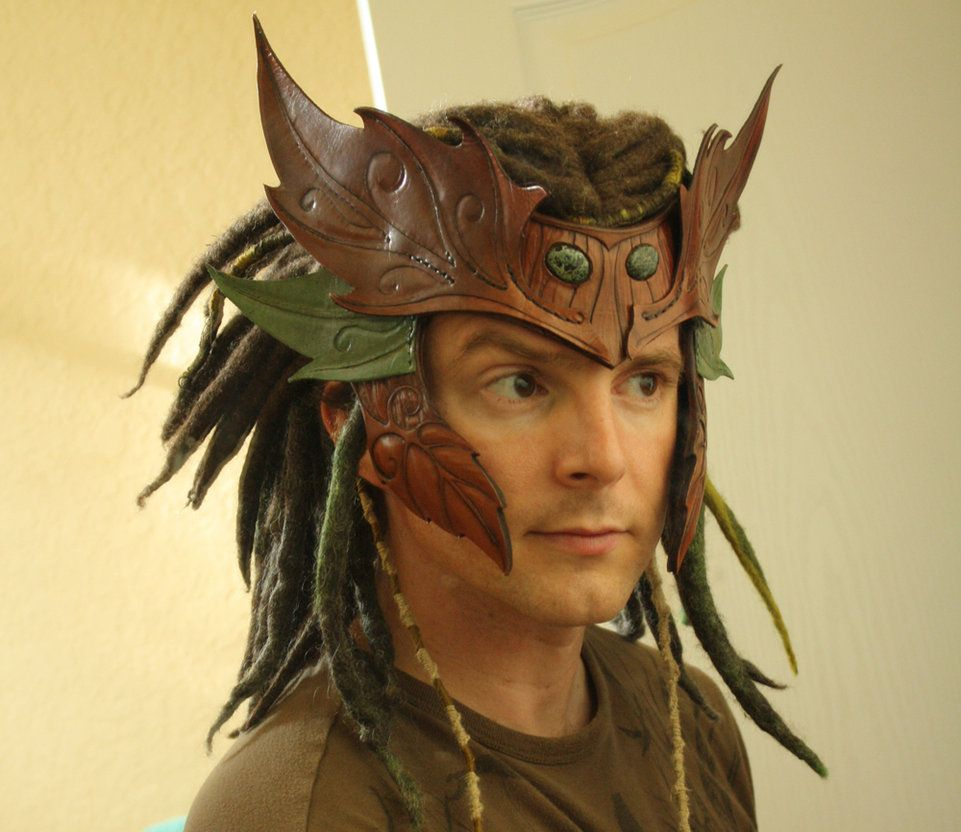 Wood Elf Headdress by Shendorion on deviantART