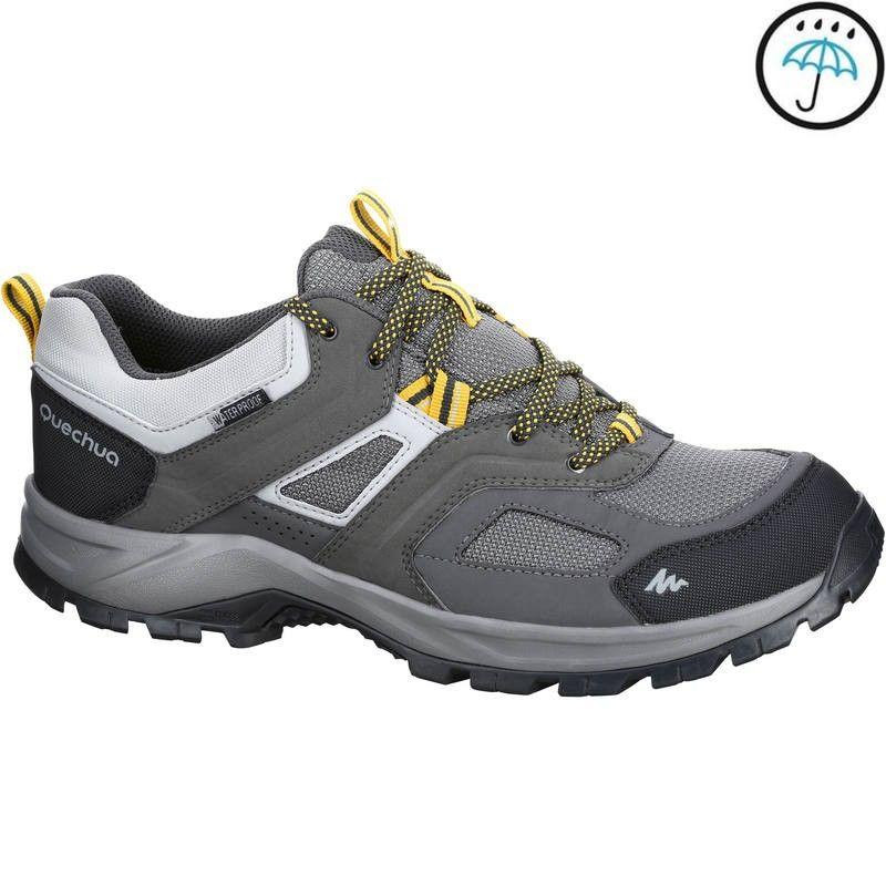 1a295a3c0 MH100 waterproof Men s Hiking shoes Grey Yellow