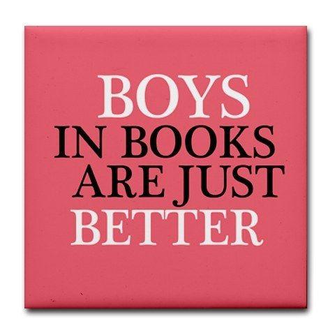 Michael(from Princess Diaries), Percy Jackson, Four (Tobias).... True very true