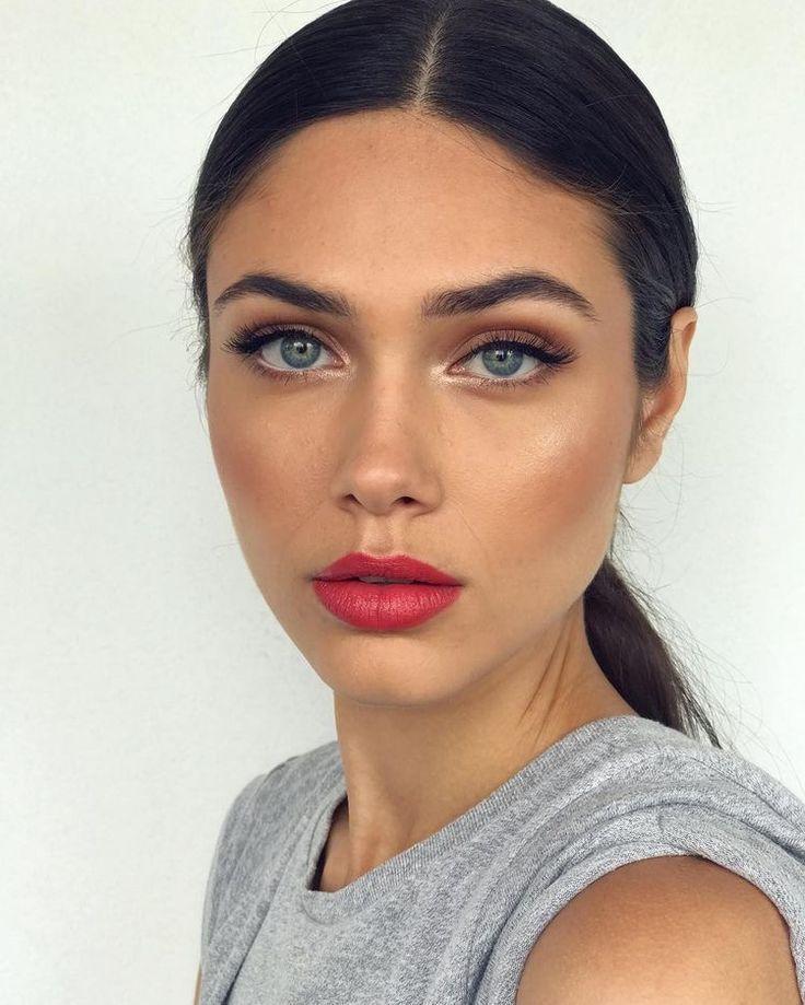 #makeup #redlip #beauty #prettygirls
