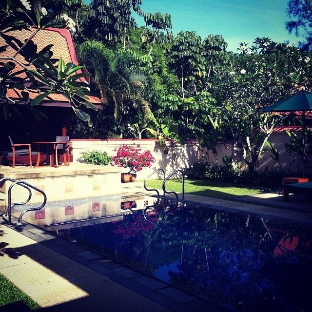 Thank you Vincent Chang Chen for such a lovely shot of Banyan Tree Phuket Pool Villa :)