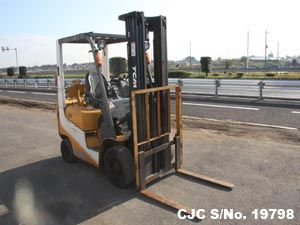 Used TCM Forklift F30 for sale  Year: 2003 Extras:1.5 Ton  Condition:  Average Price: US $ 5,900  Contact or Visit: Email : info@CarJunction.com Phone : +8190 9685 6566  www.carjunction.com #TCM #forklifts #carjunction