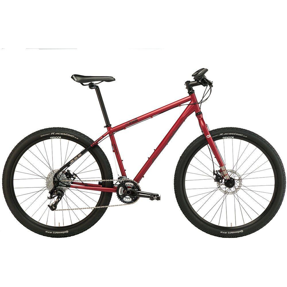 Cinelli Hobootleg Geo Complete Mountain Bike Sangria Mountain