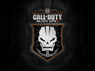 Call of Duty Black Ops 2 Logo HD Wallpaper