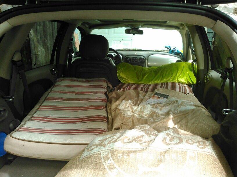 Pt Cruiser Camping With Images Chrysler Pt Cruiser Cruisers