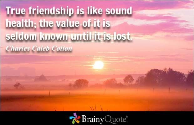 Charles Caleb Colton Quotes | Friendship