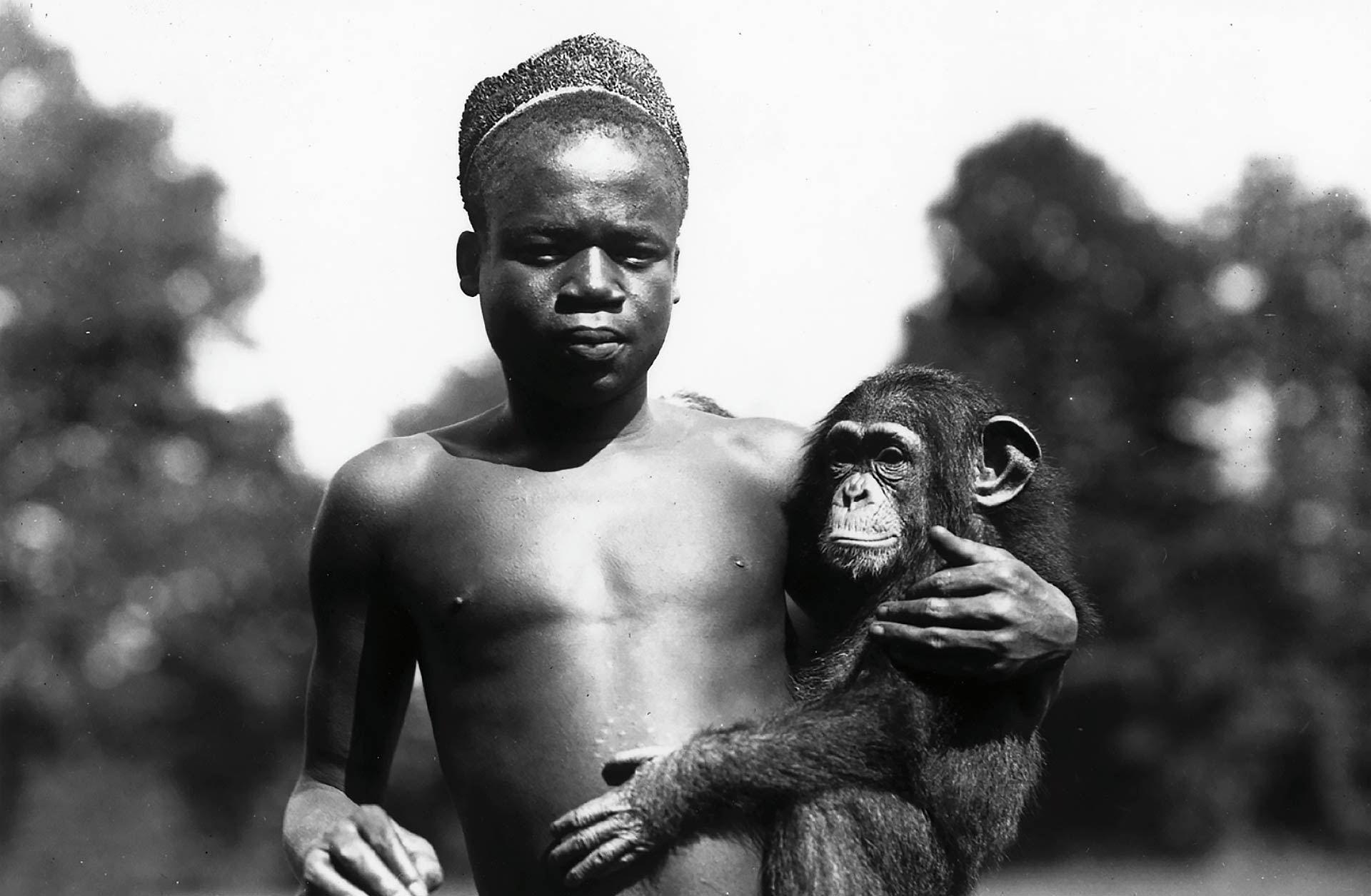 The furor over Ota Benga, an African man displayed with