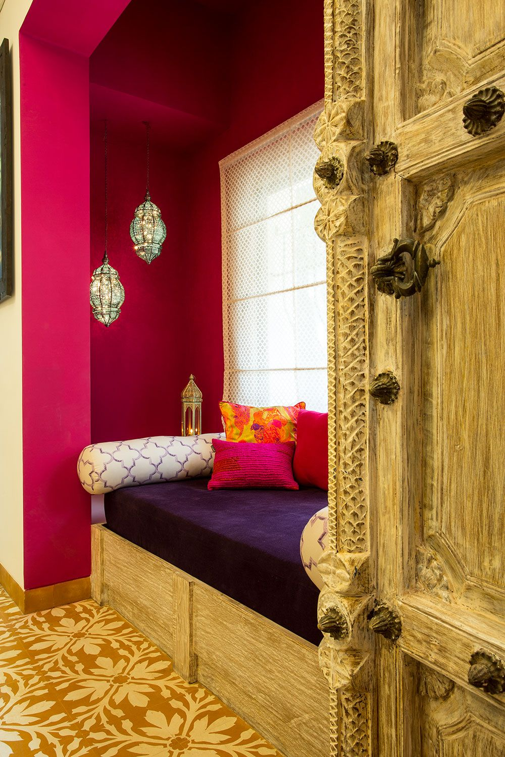 Indian Heritage Interiors Meets New Age Design The Orange Lane