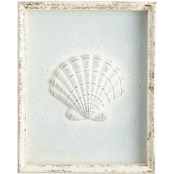 Pier 1 Imports Seashell Framed Wall Decor ($50) ❤ liked on Polyvore