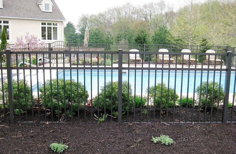 Wrought Iron Fence Around Pool For Fence Gate Fence Around