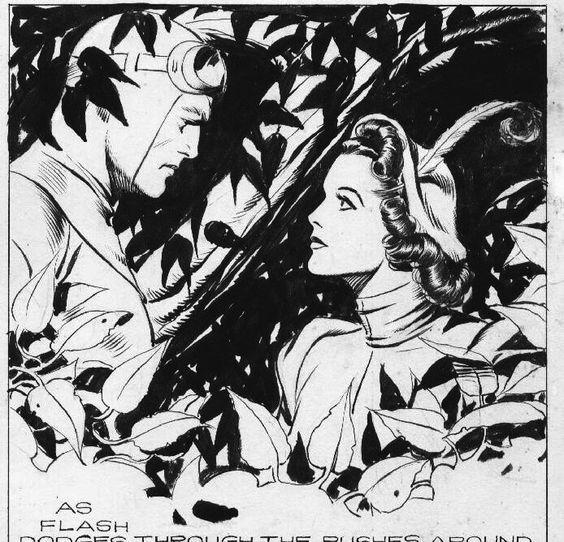 Resultado de imagem para jungle jim comics by alex raymond