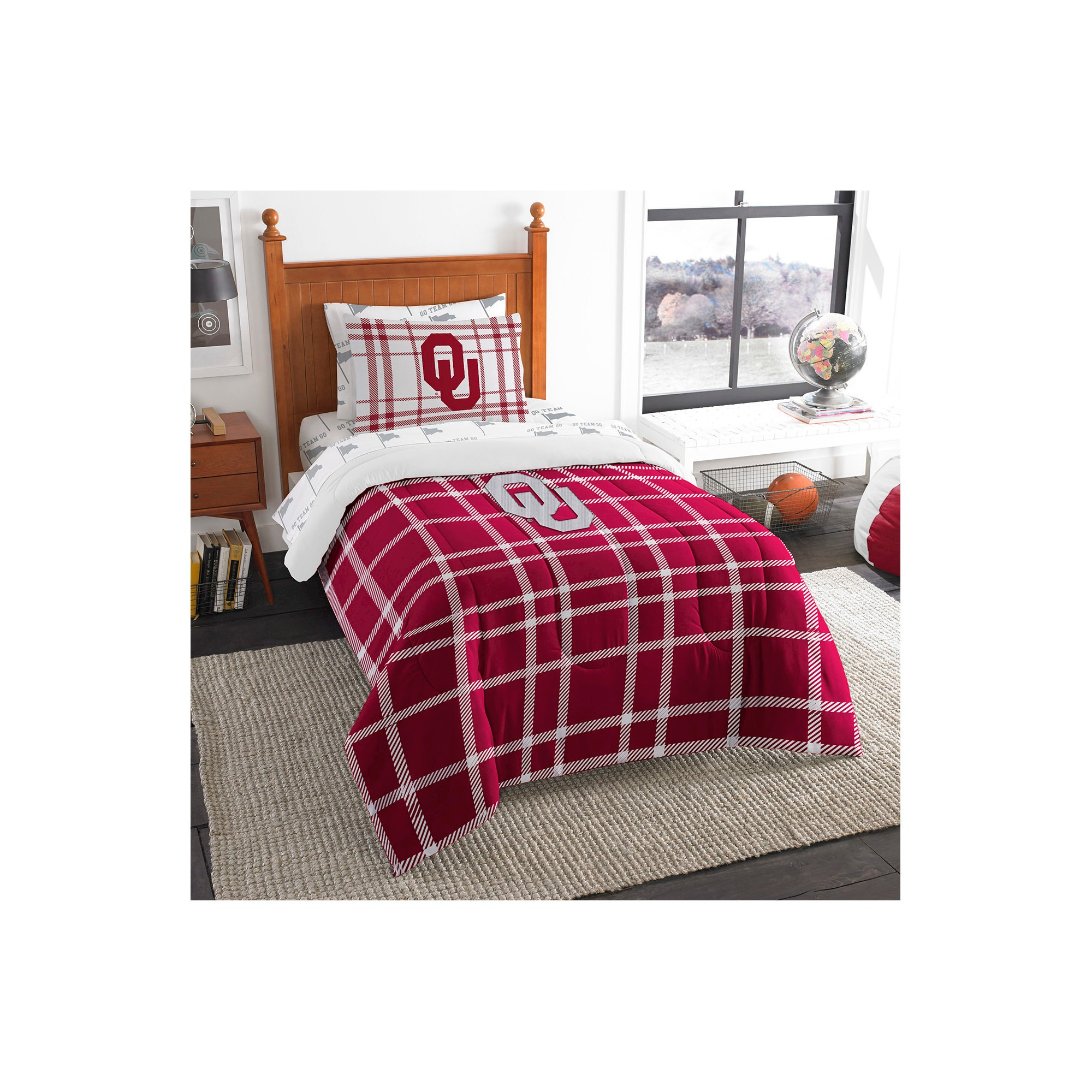 Bed in A Bag The Northwest Company NCAA Unisex Twin Comforter Set