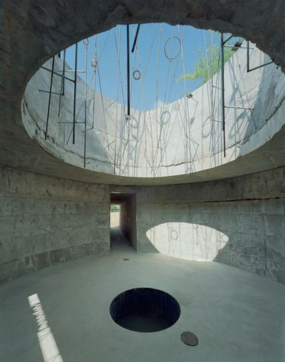 Subrosa Pantheon by Samuel Mockbee A place for meditation and sharing secrets, the term subrosa derives from the ancient Romans who would hang roses from the ceiling to enforce confidentiality among those present.