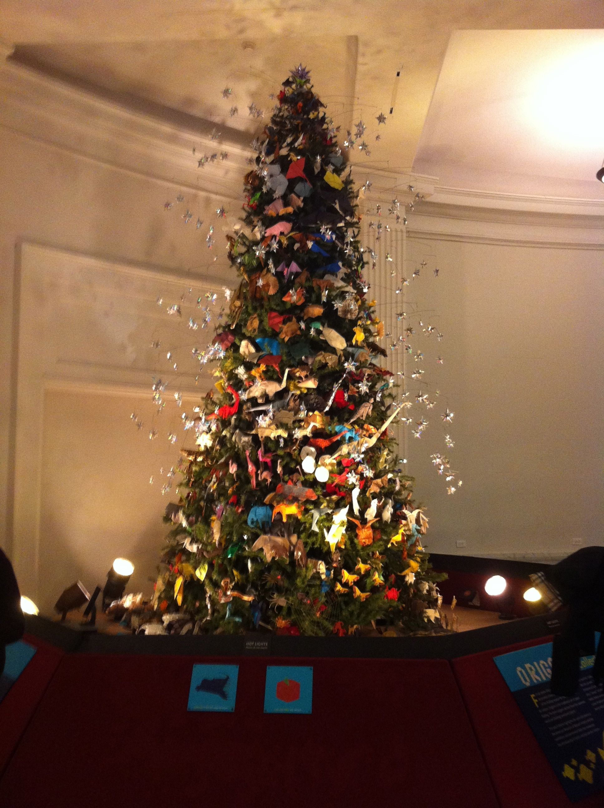 Origami Tree, American Museum of Natural History, NY (With