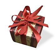 Set of 50 Classic Favor Box With Ribbon Bowkn... – USD $ 99.99