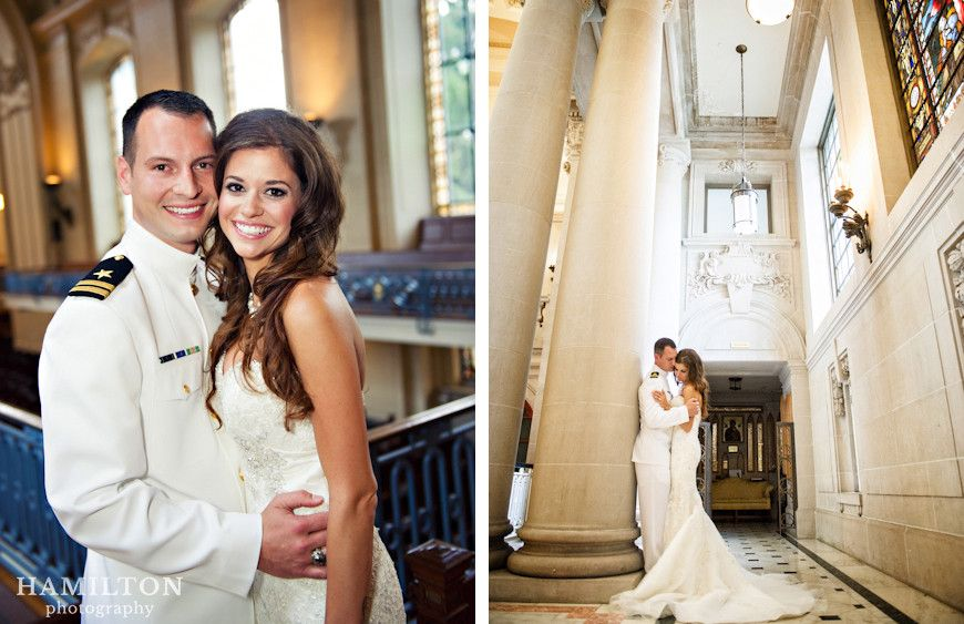 Wonderful Wedding Pictures By Hamilton Photography For A Navalacademy In The Chapel