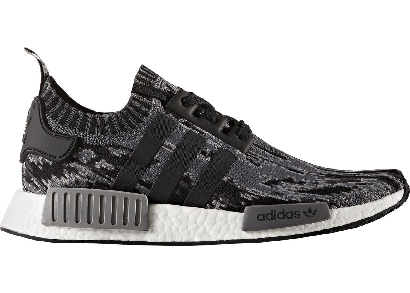 adidas NMD R1 Core Black Grey Three in 2020 Sneakers men